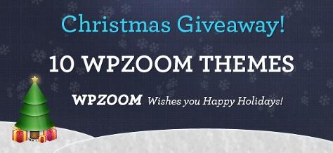 WPZOOM Christmas Giveaway
