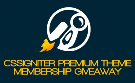 CssIgniter Premium WordPress Themes Giveaway