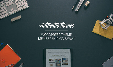 Authentic Themes WordPress Giveaway